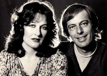 1981 - Saam met Anton Goosen vir publisiteit vir ons Staatsteater-optrede. Foto: Bob Martin
