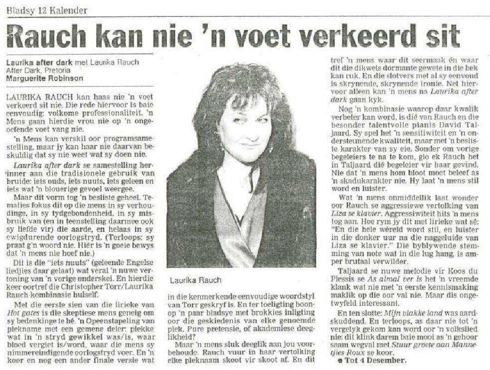 1993-beeld-laurika-kan-nie-voet-verkeerd-sit-nie