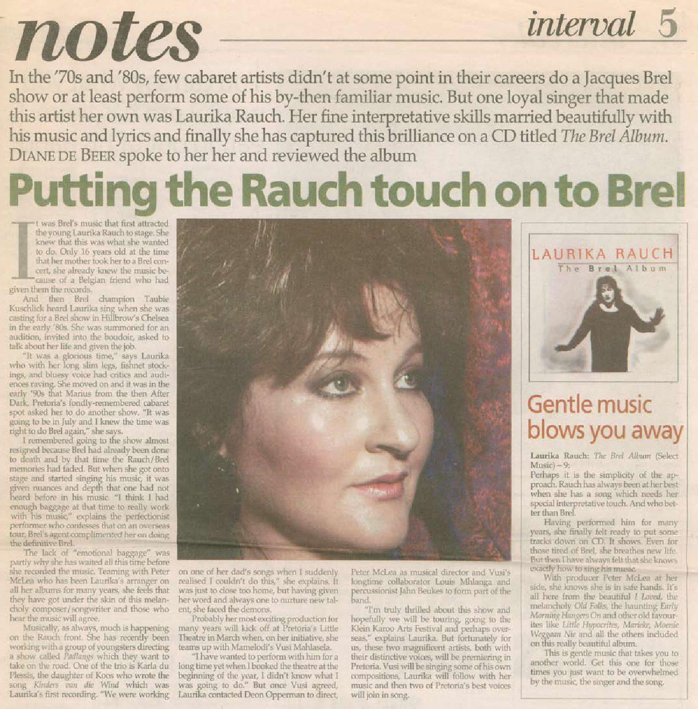 1998-pretoria-news-putting-rauch-touch-on-brel